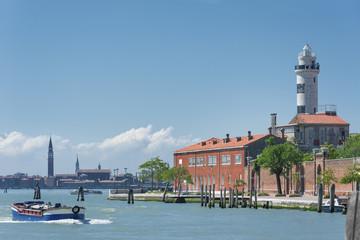 Fototapete - Murano island, Venice, Italy