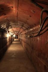 Interior of old soviet bunker