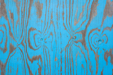 Colorful blue wooden board lines background
