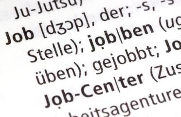 Job - jobben, Aussprache Wörterbuch