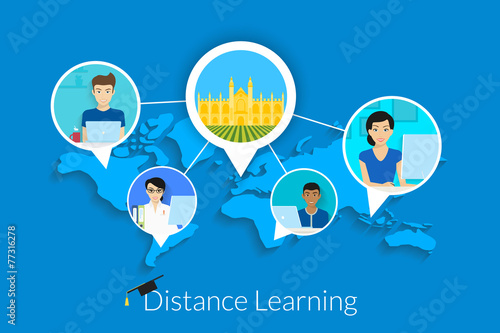 distance learning Distance learning at patrick henry community college is defined as a formal educational process in which the majority of the instruction occurs when student and.