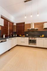 Beauty kitchen in modern design