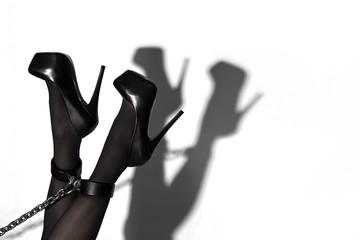 Beine mit Schatten