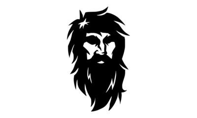 Beard Man Silhouette