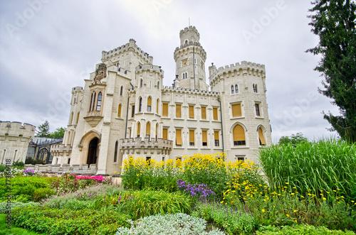 Hluboka Chateau, Czech Republic бесплатно