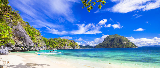 Fototapete - tropical scenery of Palawan, Philippines
