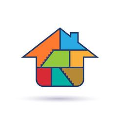 House interior logo