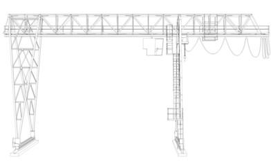 Gantry bridge crane