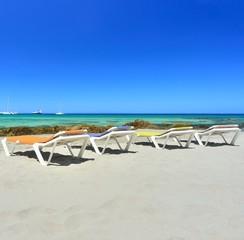 transat à la plage