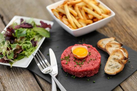 steak tartare façon américaine 1