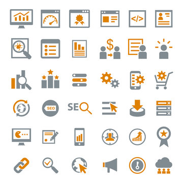 Marketing Seo Icons
