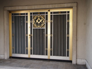 Freemasonry Door