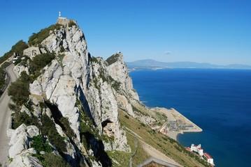 Gibraltar upper rock nature reserve top (East)