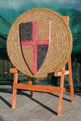 Medieval archery target