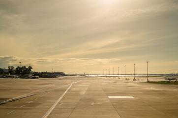 Pista in aereoporto