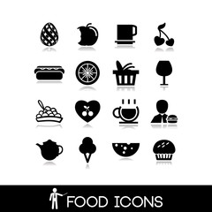 Cooking and food icons - set 1