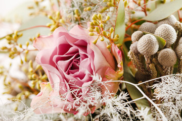 Wall Mural - romantic bouquet