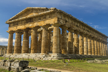 Wall Mural - Temple of Paestum - Italy