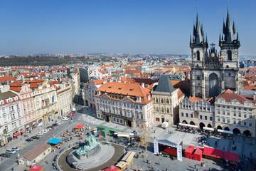 Prague Easter market, Old Town Square, Prague, Czech republic