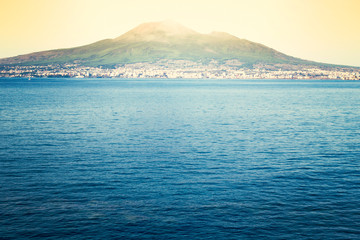 Bay of Naples and Vesuvius