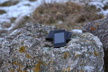 Smartphone On Stone