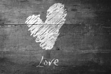 Wall Mural - Composite image of love heart