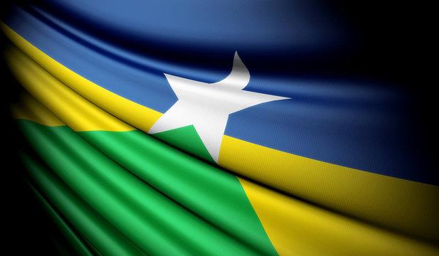 Flag of Brazil (Rondônia)