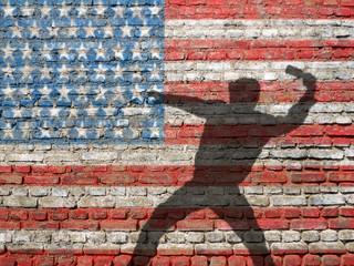 USA rioter