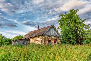 Old rural hut