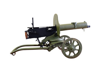 Machine gun, Maxim's system isolated