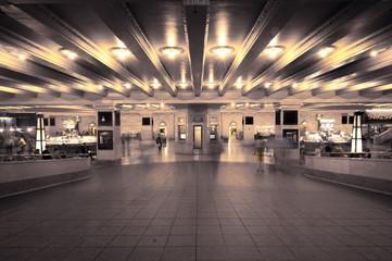 subway building
