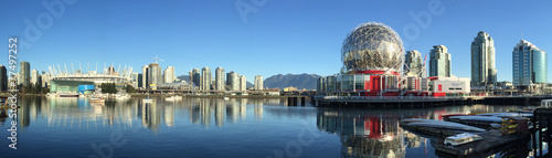 Fototapete False Creek Vancouver