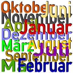 Monat Datum Puzzle #150203-14