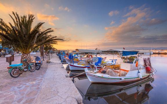 Fishing boats Greece