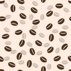 Coffee seamless background, vector illustration