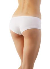 Beautiful body of woman exposing bottom