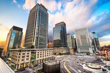 Staande foto Tokyo Business District in Tokyo, Japan