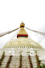 Beautiful dome of Swayambhunath Stupa