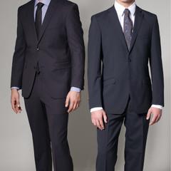 Two men in elegant suit