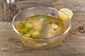 Tsar's fish soup