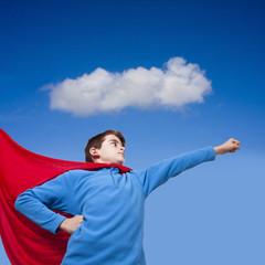young prepared, Superman