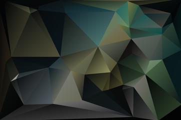 Abstract geometric polygon pattern