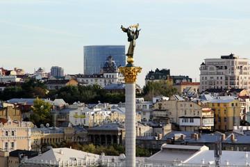 Independence Monument in Kiev, Ukraine