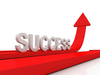 Success Arrows 3D