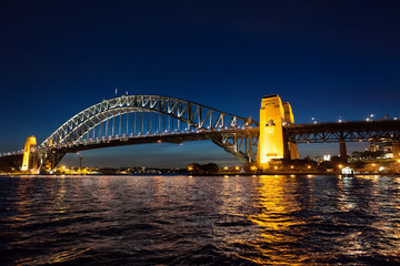Wall Mural - Harbor Bridge by Night