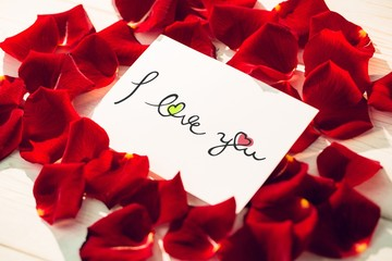 Composite image of i love you