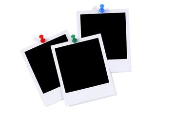 Blank photo prints