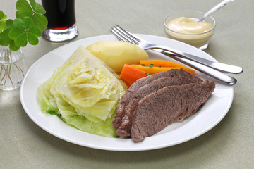 corned beef and cabbage, st patricks day dinner