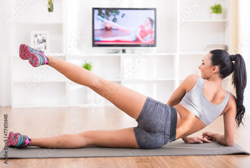 Тренинг вдео похудение домашнее как похудеть эффективно и не набрать вес