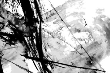 Fototapeta Abstract ink paint vector background obraz